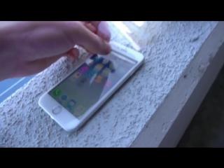 VS. iPhone 6S vs падения  с 30 метров