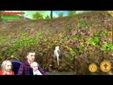 СИМУЛЯТОР Маленькой МЫШИ #2 Выживание в лесу Укусила Змея и поймал кот детский летсплей от FFGTV
