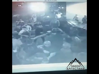 Дагестанцы против чеченцев. Массовая драка