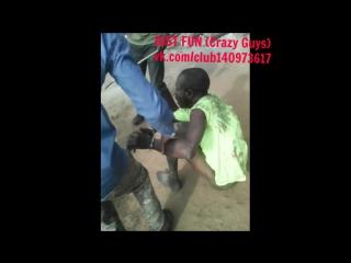 Thief caught savage africa uganda embarrassing член хуй голый naked nude cock penis public