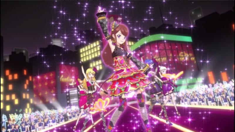 Aikatsu Episode 23 Growing for a dream Hoshimiya Ichigo Kiriya Aoi Shibuki Ran Arisugawa Otome Todo Yurika 1080p
