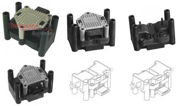 Элемент катушки зажигания для AUDI A1 Sportback (8XA, 8XK)
