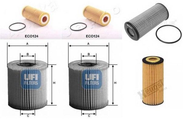 Масляный фильтр для AUDI A6 Avant (4G5, C7, 4GD)