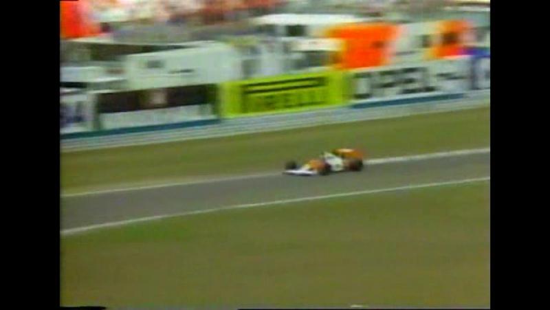 F1 1989. Гран-при Германии. Гонка
