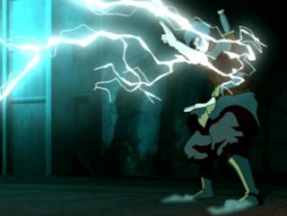 Озай vs Зуко (Магия молний) Аватар легенда об Аанге.
