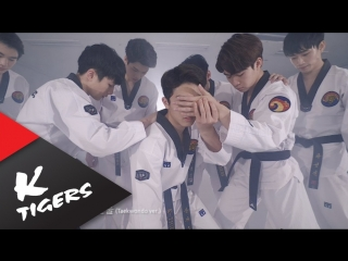 K-Tigers BTS - Blood Sweat & Tears Taekwondo Ver.