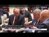 Путин посмотрел фильм Салют-7