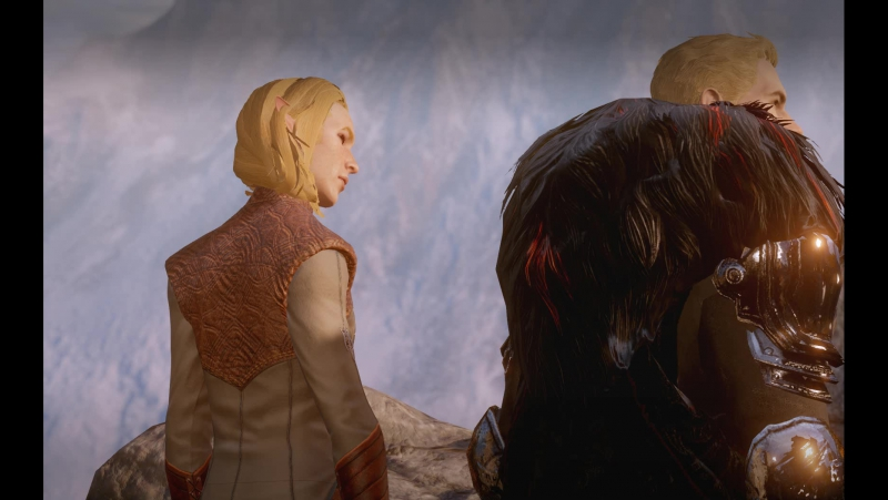 Dragon Age Inquisition Cullen x M!Lavellan Romance Part 3