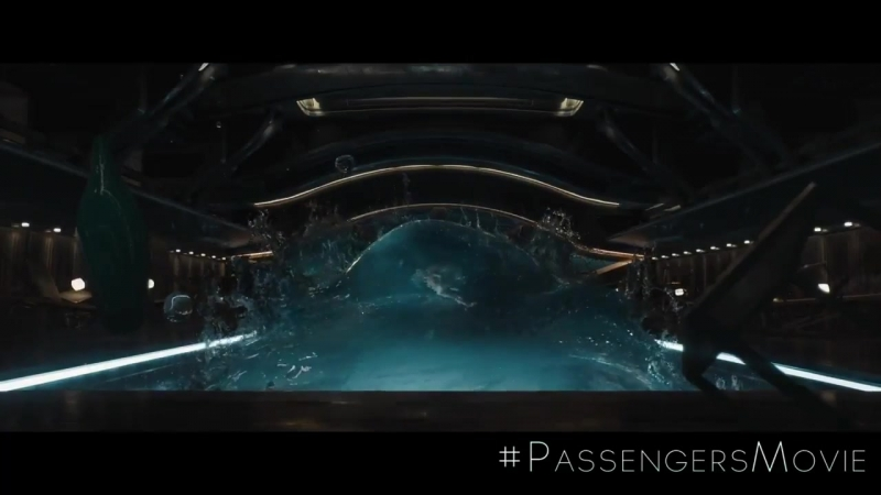 Exclusive׃ Gravity Fails Jennifer Lawrence in New 'Passengers' Clip PassengersMovie