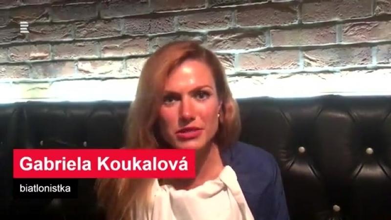 Габриэла Коукалова и Ева Самкова. (август 2017)