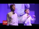 Пісня Скрябіна мовою жестів у виконанні гурту бандуристів Шпилясті кобзарі Це був особливий концерт Шпилястих Більше див