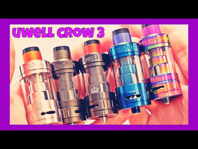 UWELL Crown 3 Quick Glance!