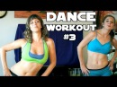 Fun Dance Workout 3 For Weight Loss, Core, Abs Flat Tummy at Home Beginners Cardio Exercises
