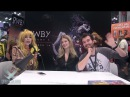 RWBY Barbara Dunkelman YANG and Miles Luna Interviews with Microkitty Cosplay