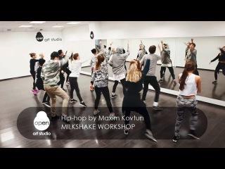 Milkshake workshop - Hip hop by Maxim Kovtun - Open Art Studio
