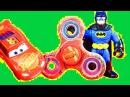 Спиннеры Тачки 3 Молния Маквин Щенячий Патруль Бэтмен Джокер Халк Видео для Детей
