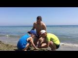 Путешествия семьи фотографа. Пляж Фарос и набережная Финикудес. Ларнака.