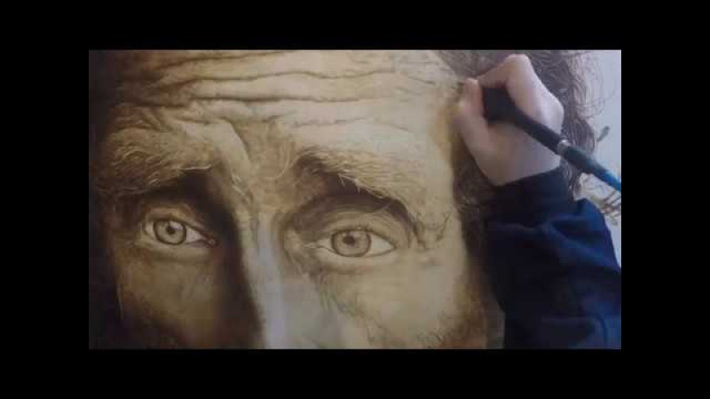 Pilsung Oh pyrography[woodburning]인두화[우드버닝]