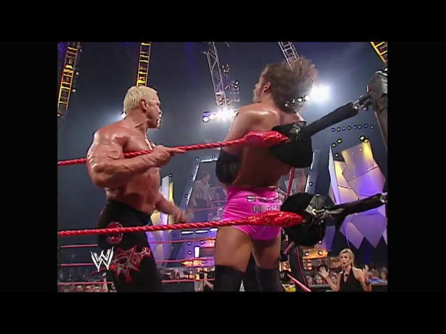 Trish Stratus Kevin Nash Scott Steiner vs Test Steven Richards Victoria Raw 07.14.2003