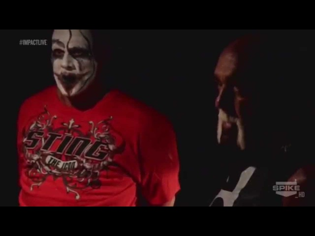TNA Impact Wrestling- Sting Hogan Go/Taken to Aces 8's clubhouse (HD)