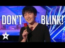 MAGIC!! Close-Up Magician Will Tsai Blows Judges Away On America's Got Talent 2017 Season 12