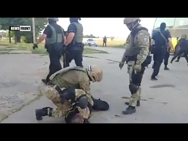 Под Кропивницким полиция и Нацгвардия задержала ветеранов Донбасса и Айдара 18