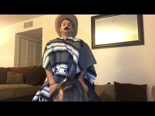 Horseback riding challenge (hilarious must watch)😂