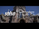 Salsa Twins Fun Version of ''Banjo Pee Paa Ke' Bollywood, Russia 2016