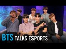 BTS on Overwatch, League of Legends, StarCraft, and their favorite esports teams and players