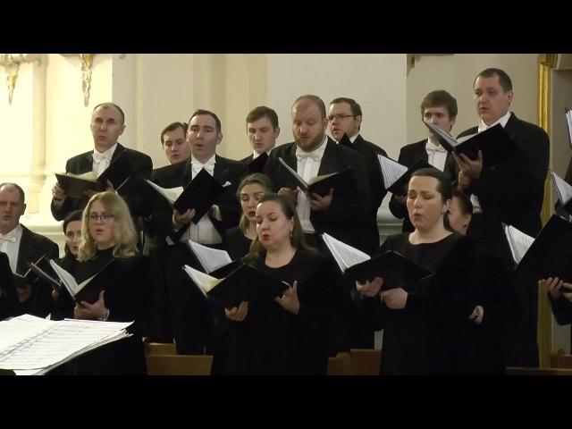Хор Государственной академической симфонической капеллы России(фрагмент)