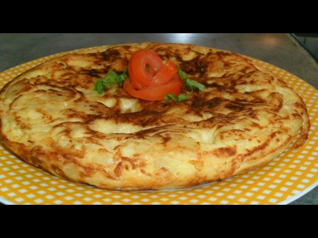 Испанская тортилья Tortilla de patatas рецепт от Inga Avak