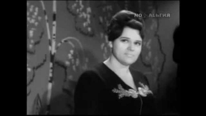 Самая редкая запись песни растёт в Волгограде берёзка 1960