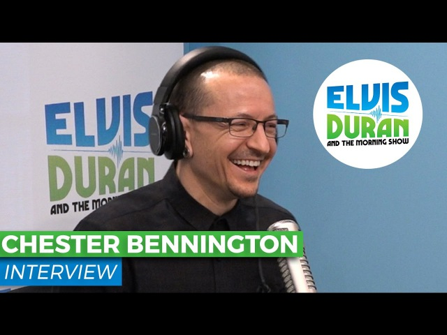 Chester Bennington Chats About Linkin Parks New Single Heavy | Elvis Duran Show
