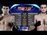 Khayal Dzhaniev (哈亚•德扎耶夫) vs Marouan Tautouh 70kg Tour. (Group 5 Final) – Kunlun Fight 59