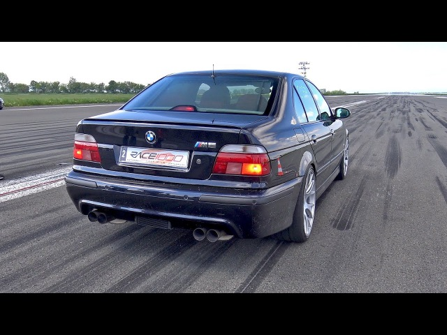 950HP BMW M5 E39 w/ Supercharger! 1/2 Mile Drag Race Accelerations