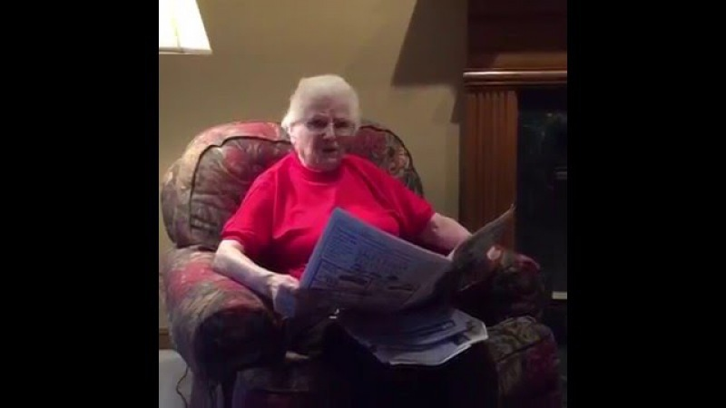 Airhorn prank on deaf Grandma | ORIGINAL