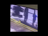 MAN GETS STUCK IN DRIVE-THRU CAR WASH MACHINE