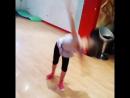 Эстетическая гимнастика, колесо, Василиса
