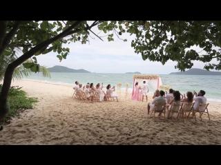 свадебный клип в Москва-Тайланд 2017 Wedding day Michail & Yulija, Moskaw & Tailand (sony a7sii & gh 4)