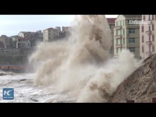 Более 200 тысяч жителей на востоке Китая эвакуированы в связи с тайфуном «Талим»