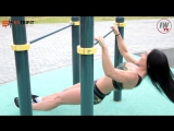 Уличная тренировка от IFBB PRO Bikini, Лианы Мороз