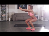 Legs and Butt Exercises - Bikini Fitness Model Sexy Workout Motivation #012