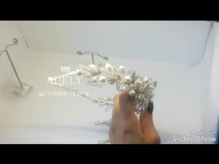 086 ободок-тиара ручной работы от ADELY accessories 👑