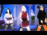 [MMD] Naruto, Sakura, Hinata - ECHO