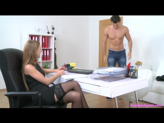 Alexis Crystal aka Anouk (American Stud Cums on Agents Face) [Porn, Casting, All Sex, HD 1080]