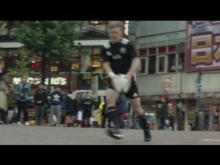 Сборная Новой Зеландии по регби в Японии сделала это с японцами