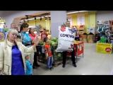 Музыкальный флешмоб в супермаркете