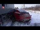 Под Тольятти поезд протаранил Porche Panamera ульяновского сенатора.