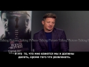 """Jeremy Renner chats with TV's Tony Toscano about his new film """"Wind River"""" (рус.суб.)"""