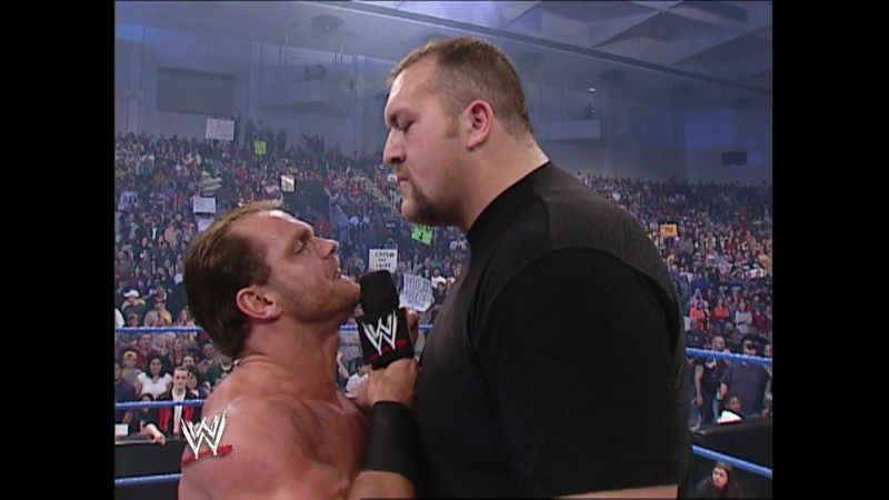 WWE Smack Down 26th December 2002 - Chris Benoit The Big Show segment